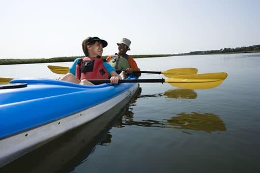 Sea Kayaking on Deer Creek