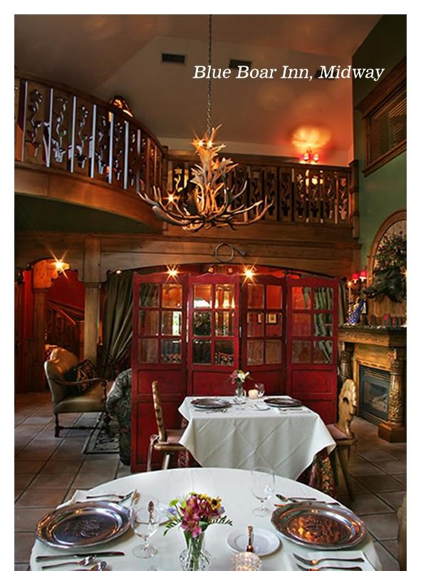 Blue Boar Inn, Midway
